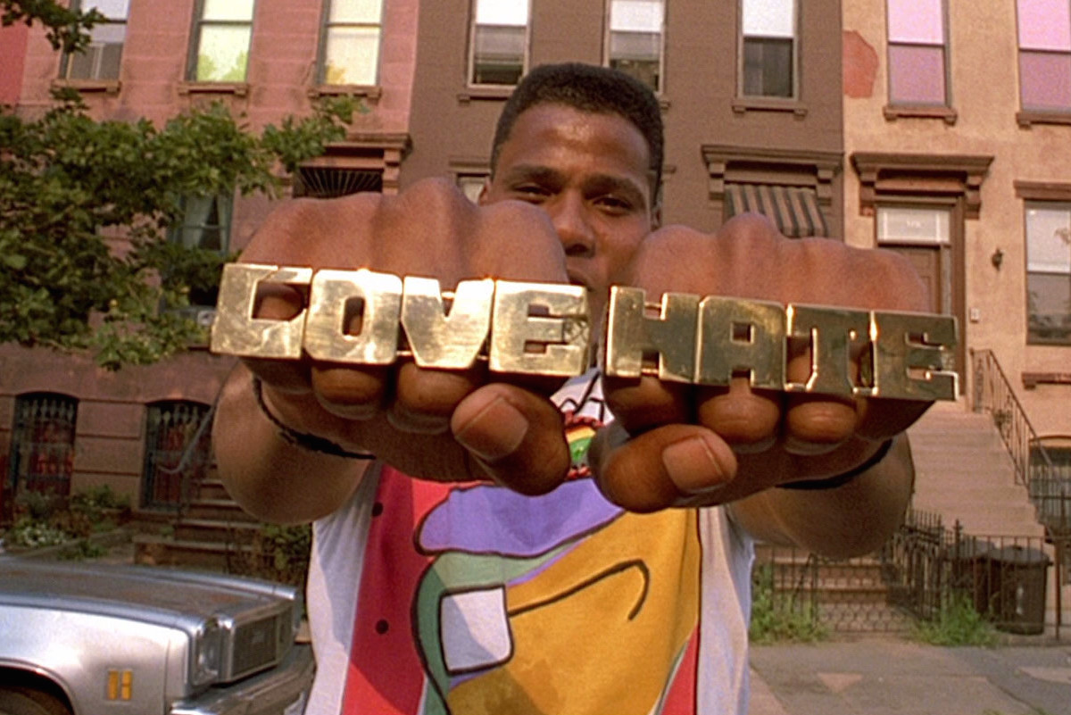the reality of the melting pot in do the right thing by spike lee Spike lee's hard look at racial reality that picture is do the right thing now playing in ''and that's why the greatest myth is the american melting pot.
